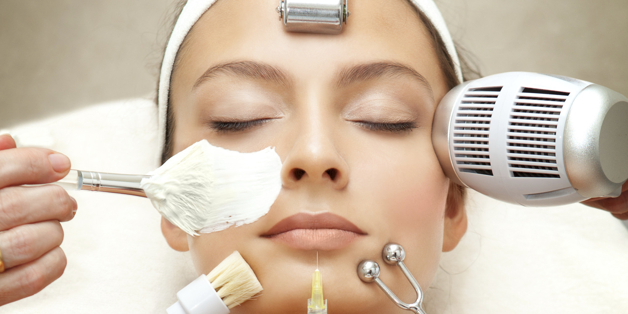 antiaging facial